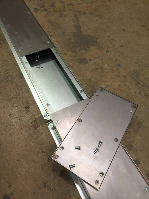 removable trunking lid